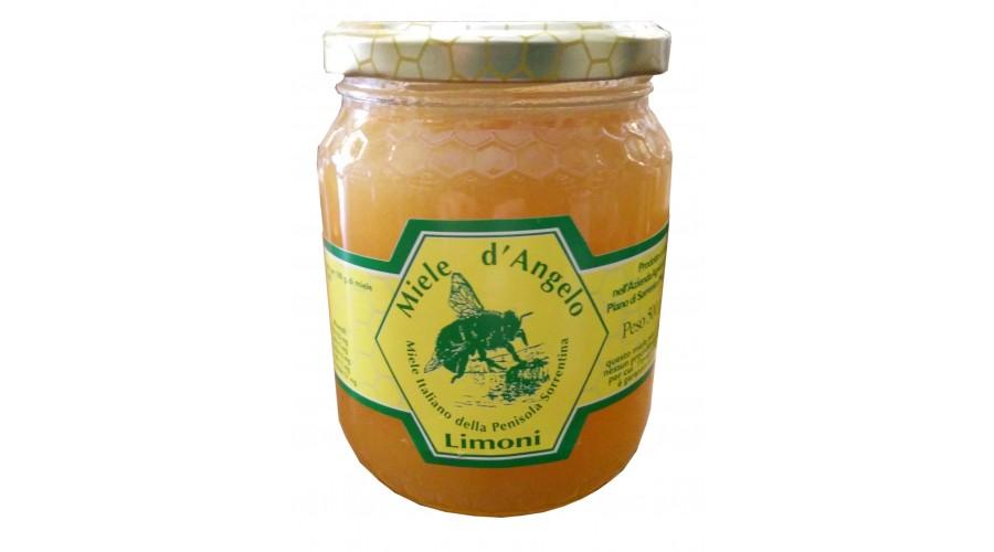 Miele di limoni  -Miele della penisola Sorrentina -  D'Angelo