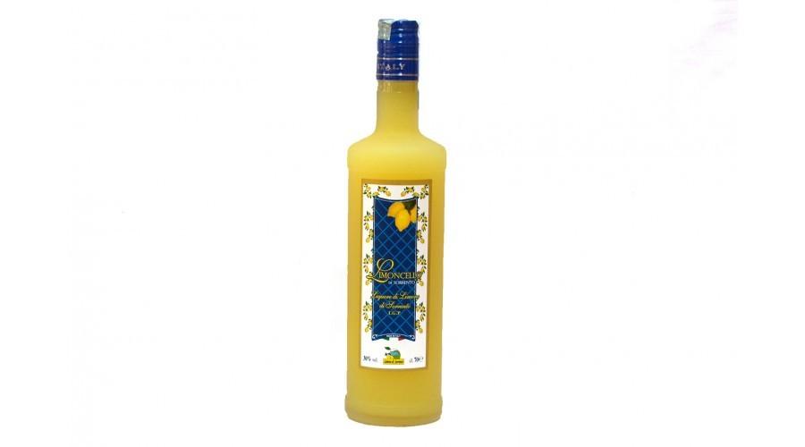 Limoncello di Sorrento - Liquore di limoni di Sorrento igp - 70cl
