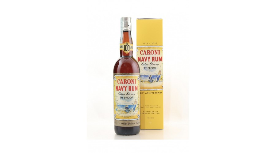 Caroni Navy Rum, extra strong 90 ° proof